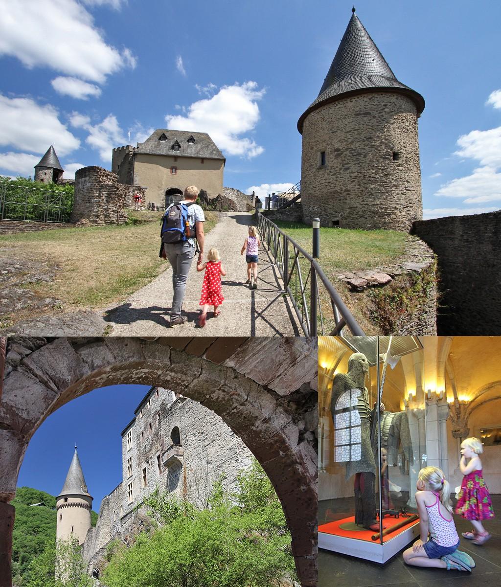 vakantie Luxemburg kastelen