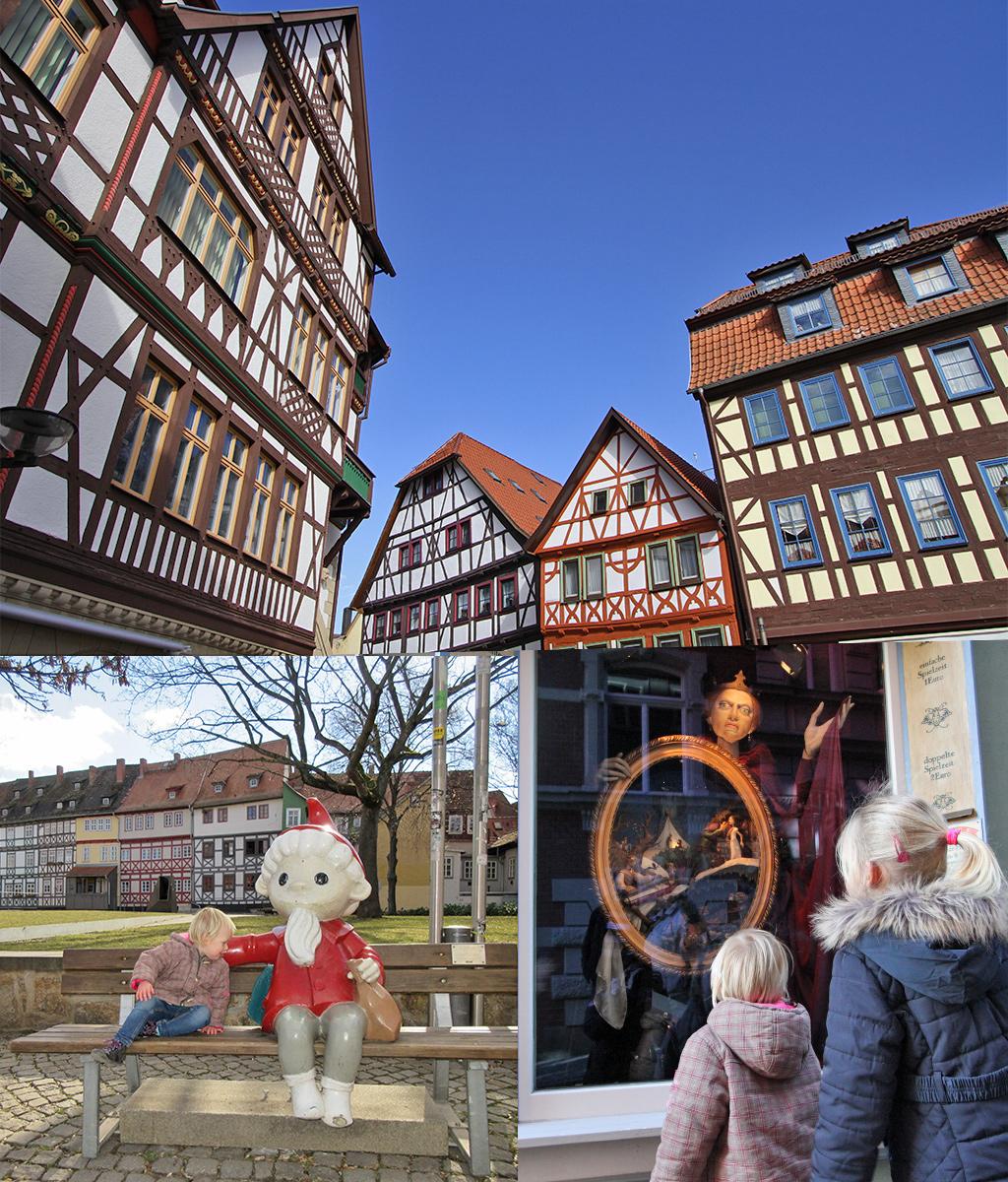 vakwerkstadjes en kindvriendelijk Erfurt