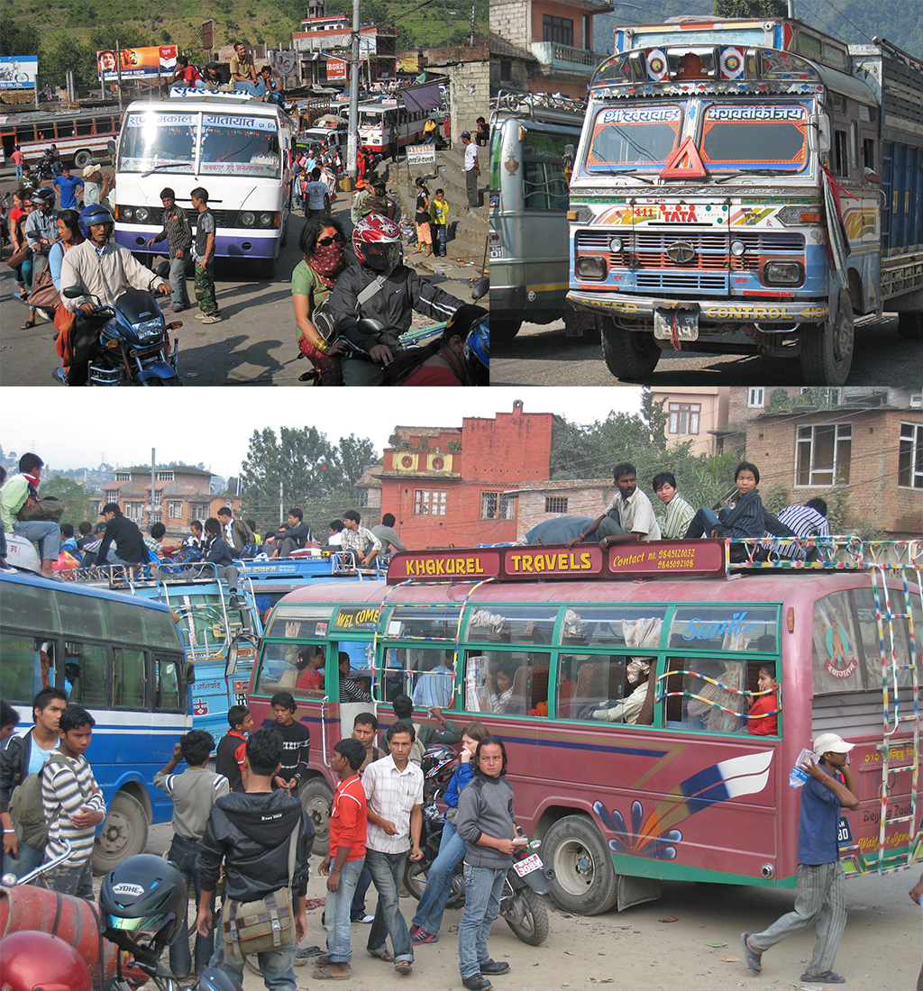 van Kathmandu naar Pokhara
