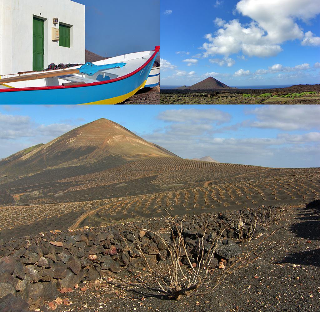 van Playa Quemada naar La Geria Lanzarote