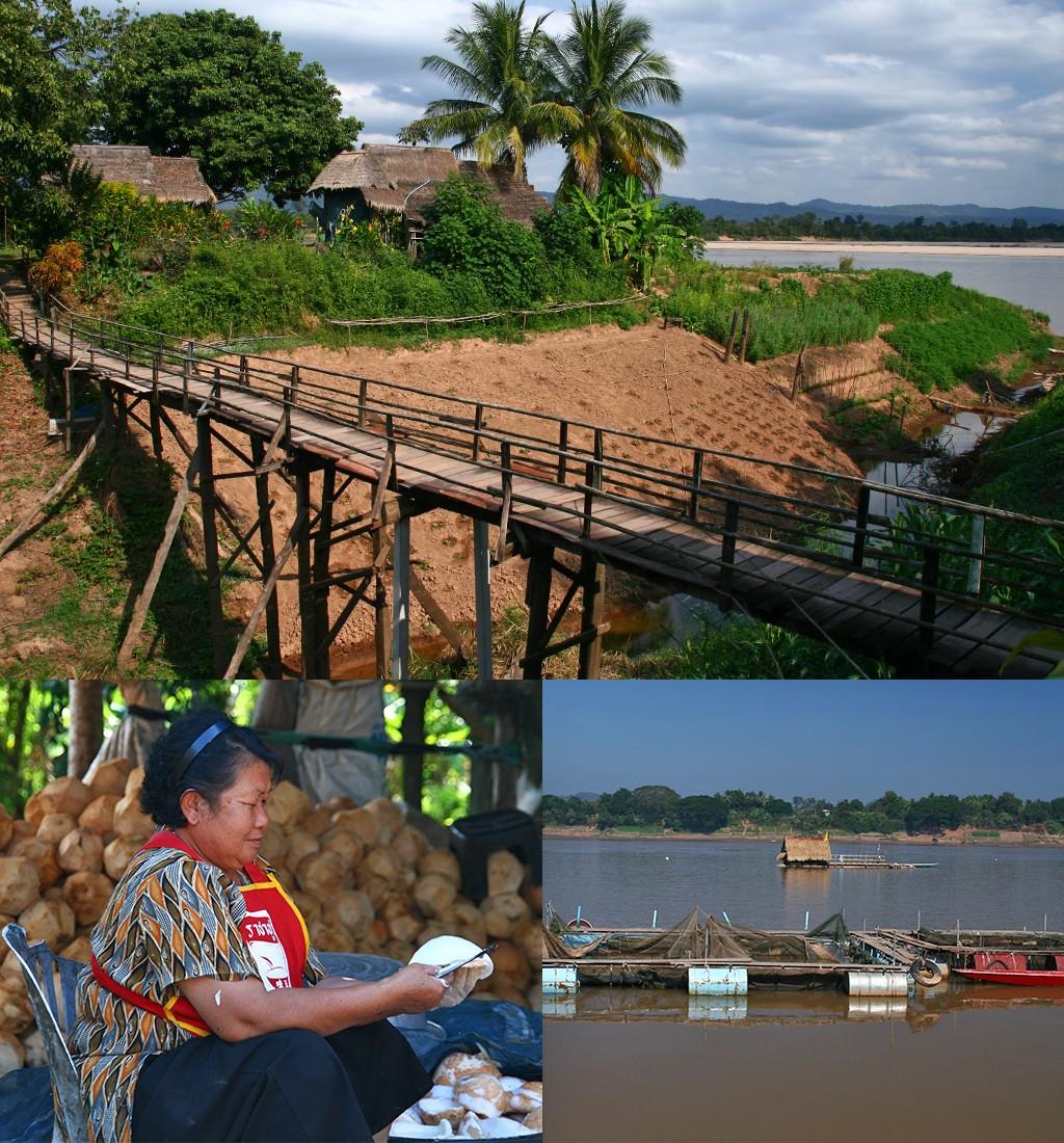 vanuit Thailand naar Laos