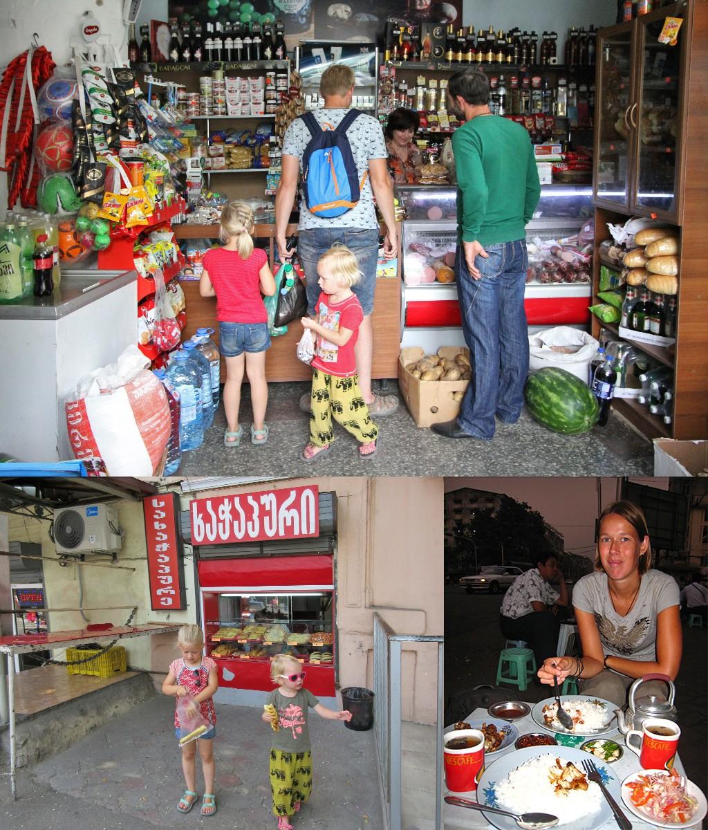 verantwoord reizen - shop en eet lokaal