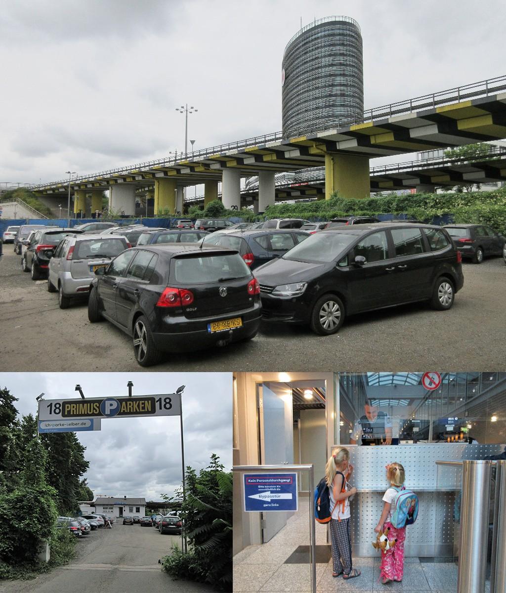 verre reis met kinderen - parkeren luchthaven