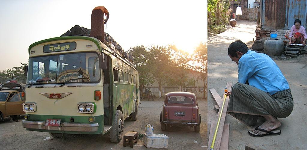 vertrek Bagan