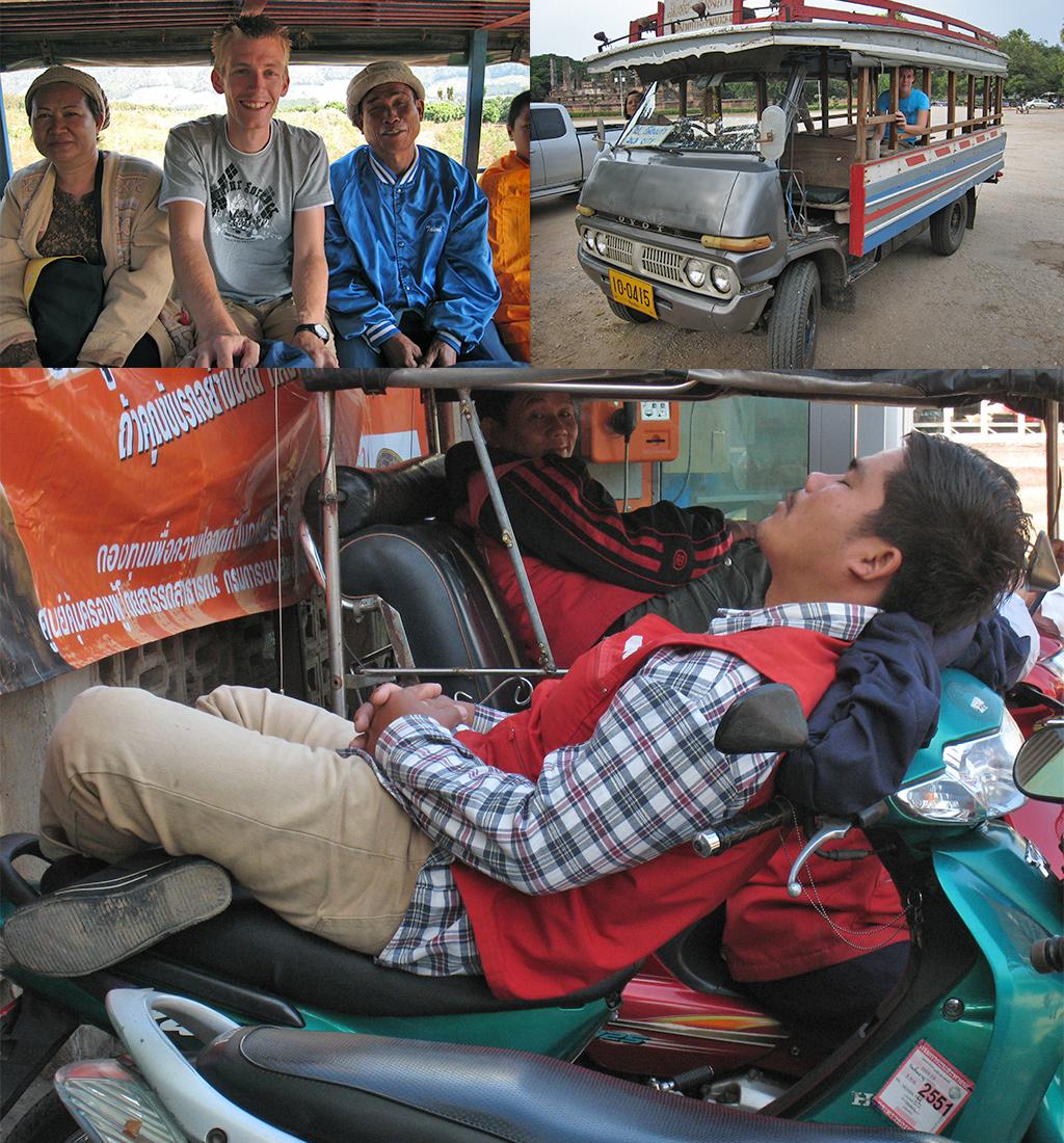 vervoer Noord-Thailand