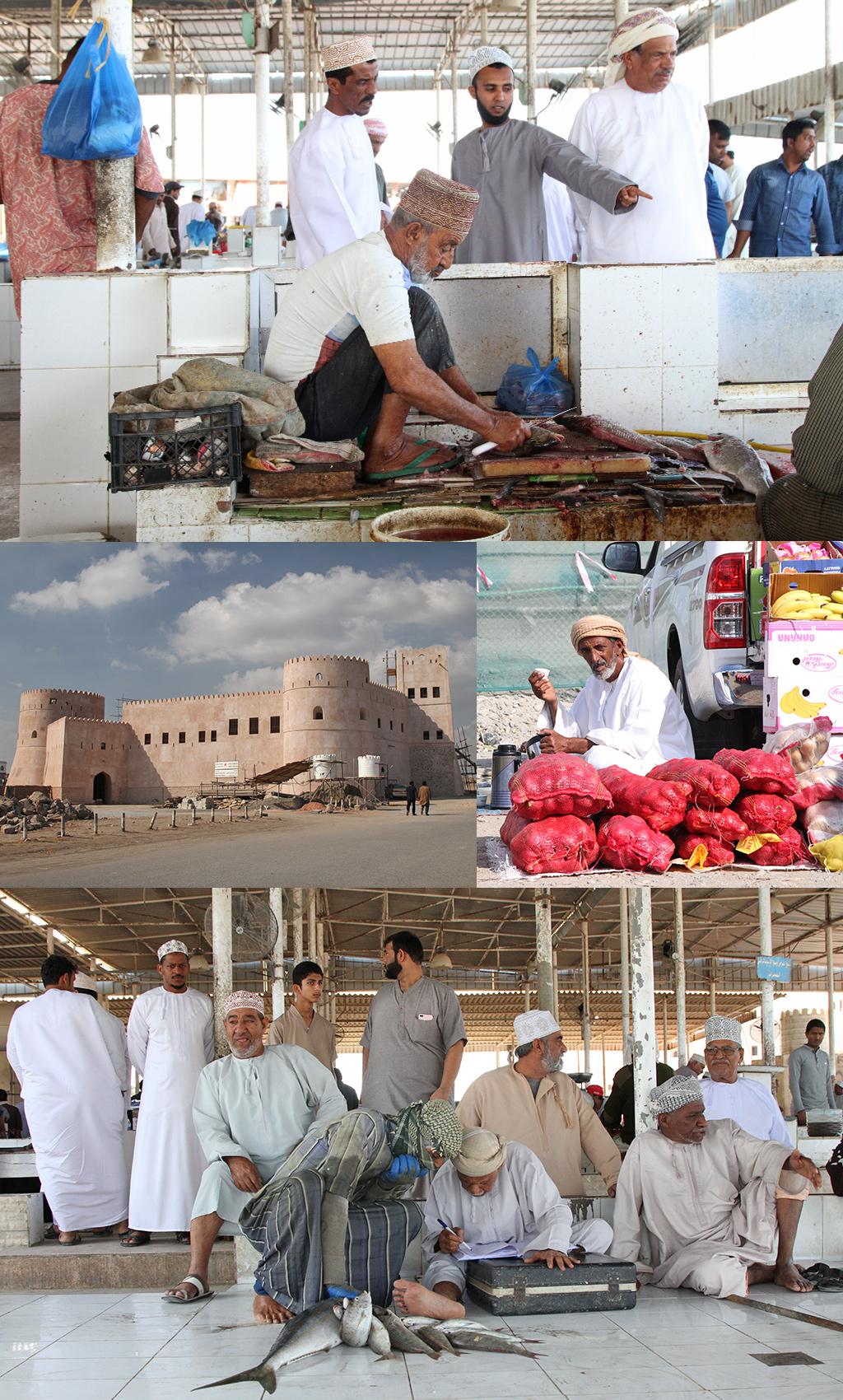 vismarkt Barka bij Muscat