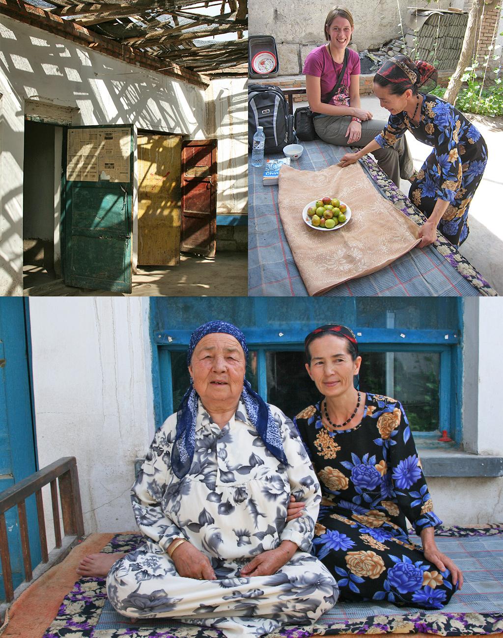 vriendelijke Oeigoeren in Hami