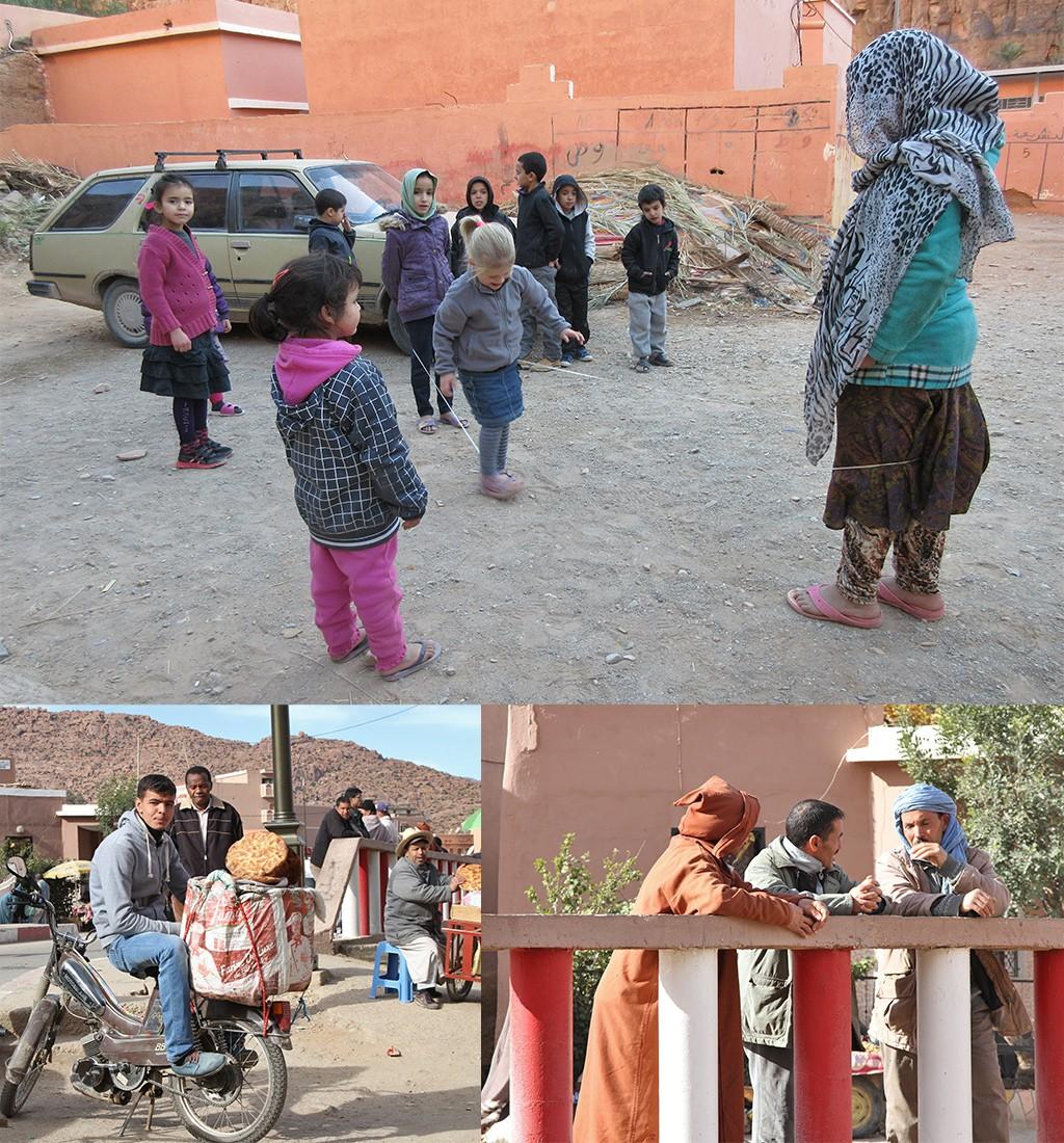 vriendelijke bevolking Marokko