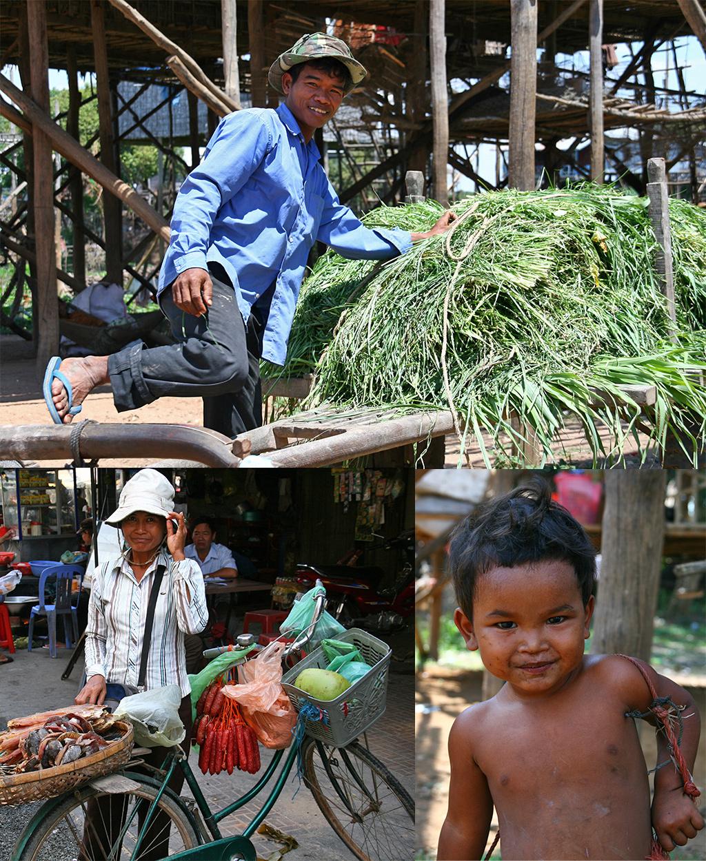 vriendelijke mensen Cambodja