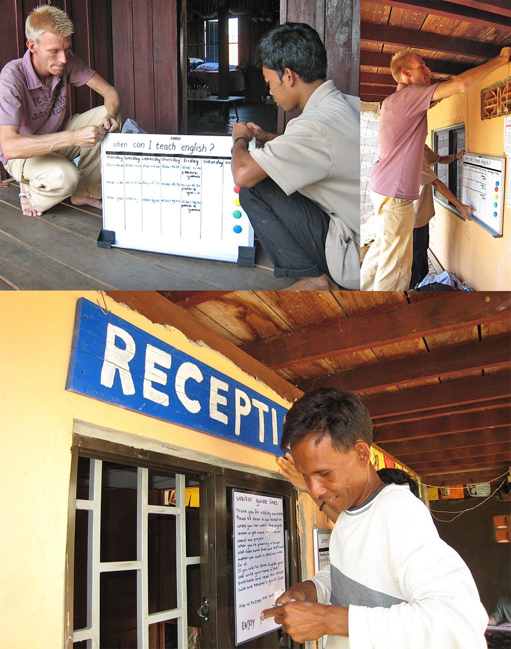 vrijwilligerswerk in Cambodja-structureren