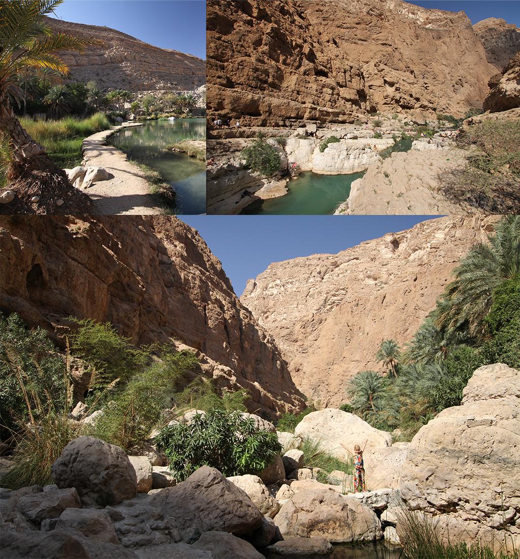 wadi's bij Sur