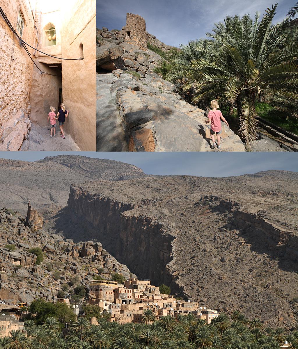 wandelen Oman met kinderen