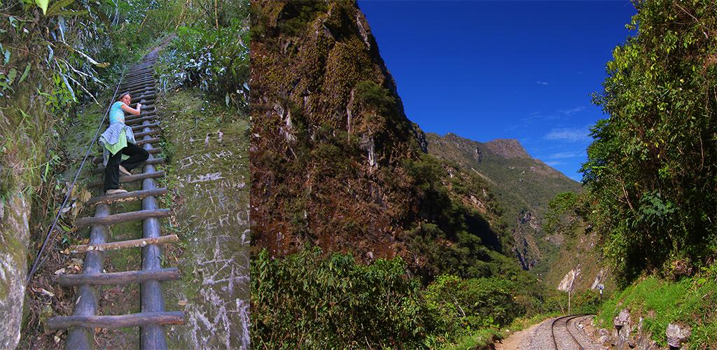 Wandelen bij Machu Picchu