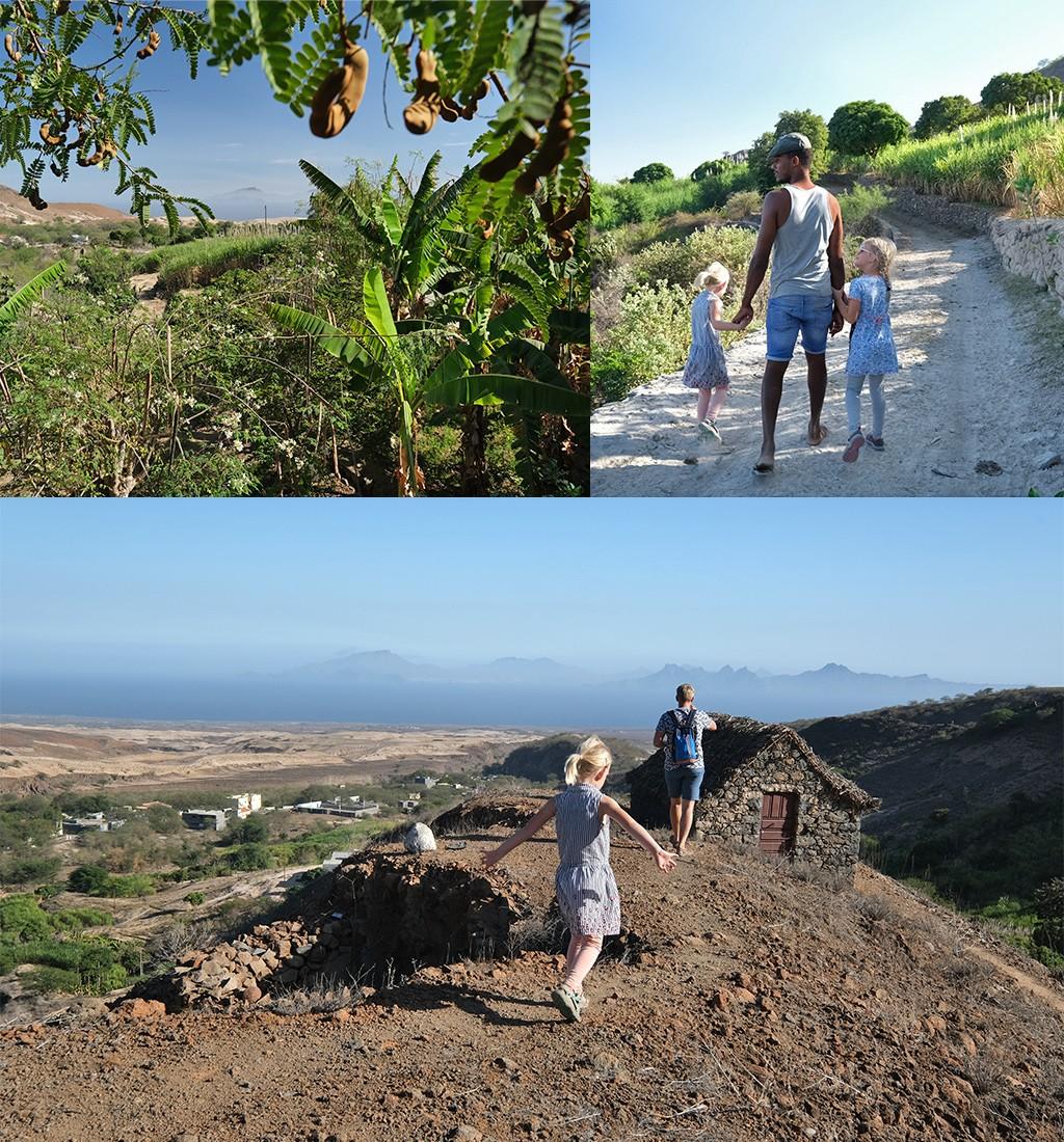 wandeling Lagedos Santo Antao