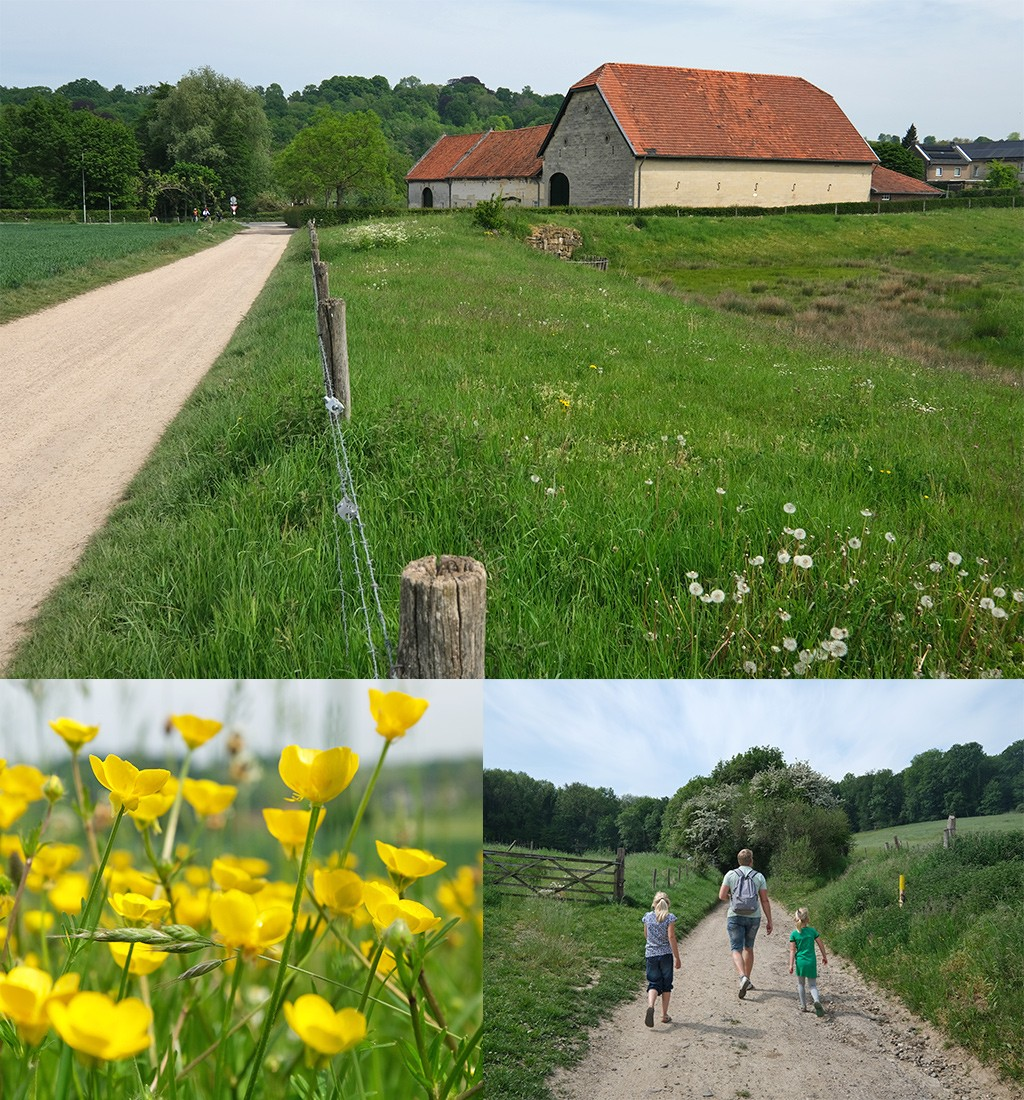 wandeling Valkenburg door natuur