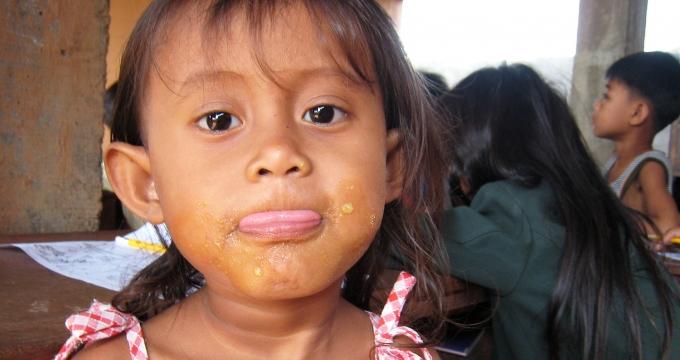 weehuis in Cambodja