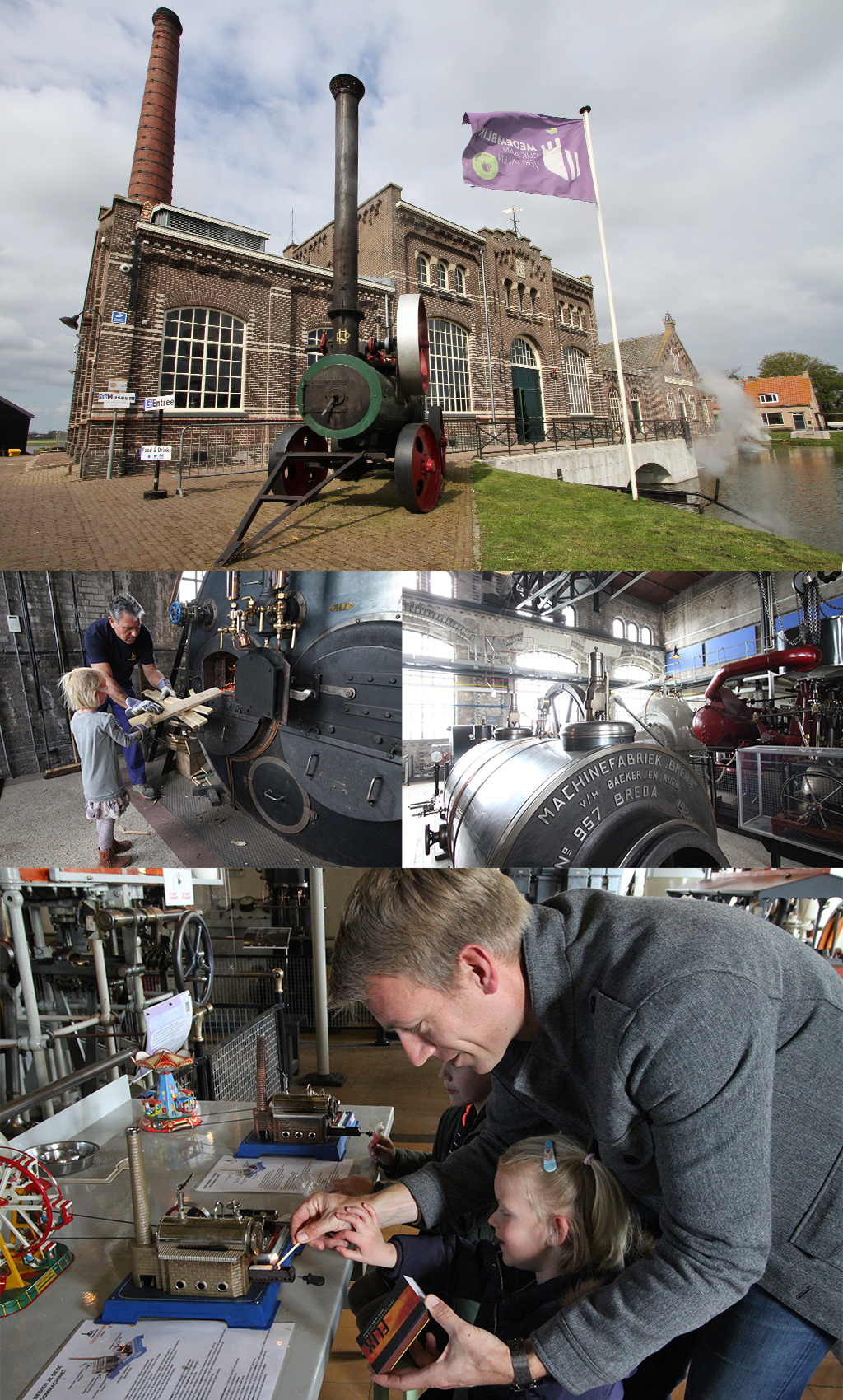 weekend Noord-Holland stoommachinemuseum
