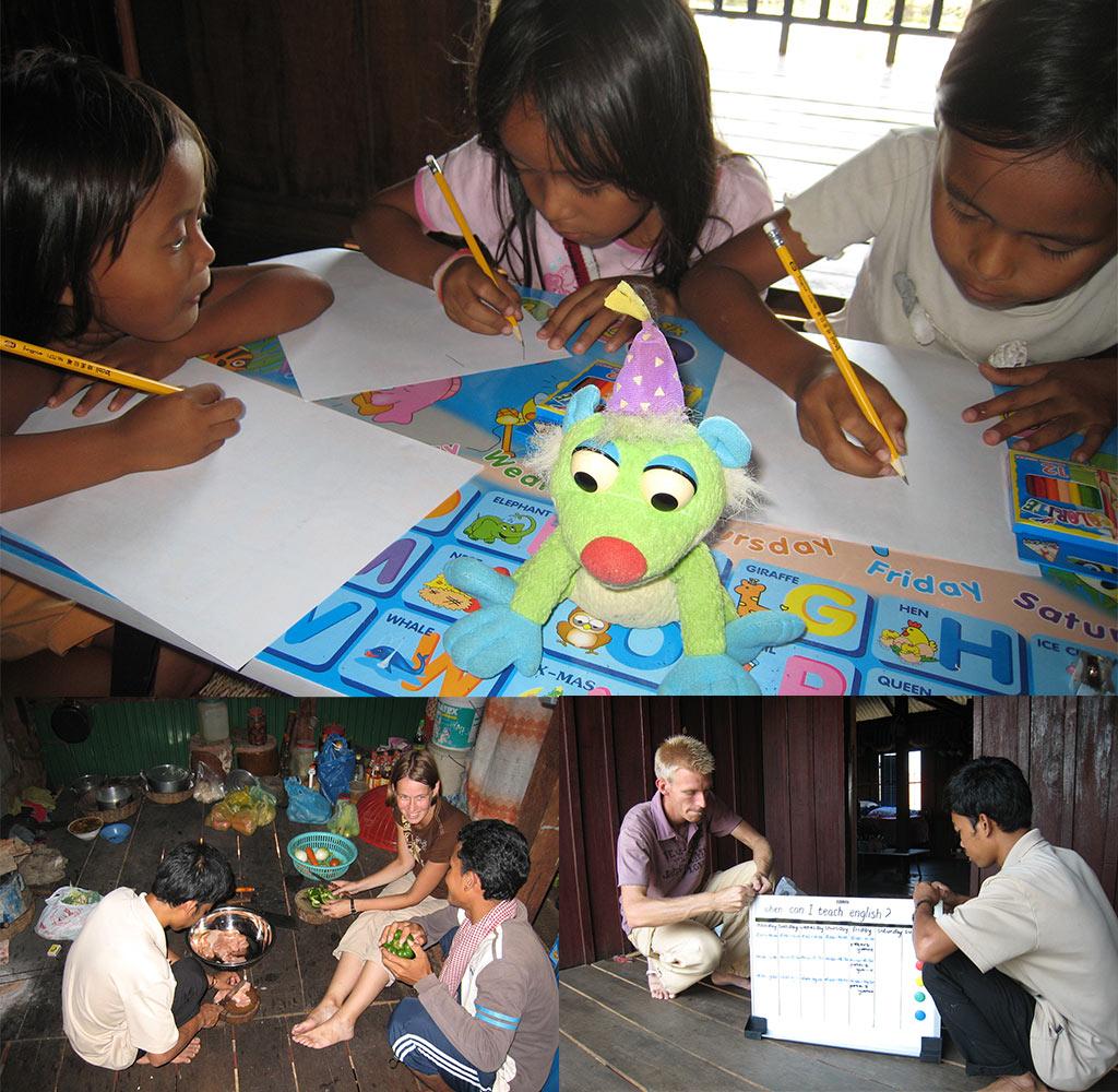 weeshuis in Cambodja