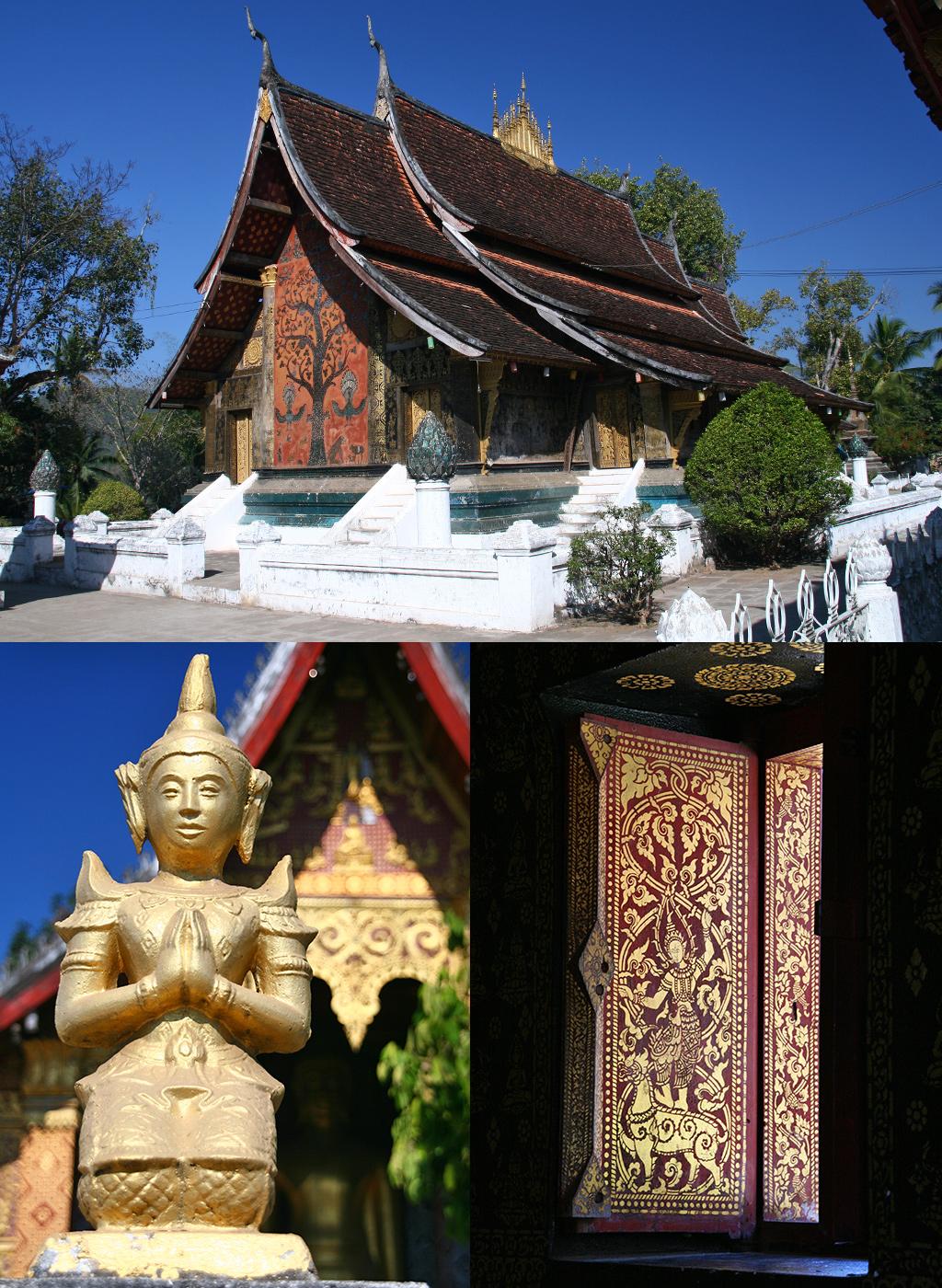 zien en doen in Luang Prabang - tempels
