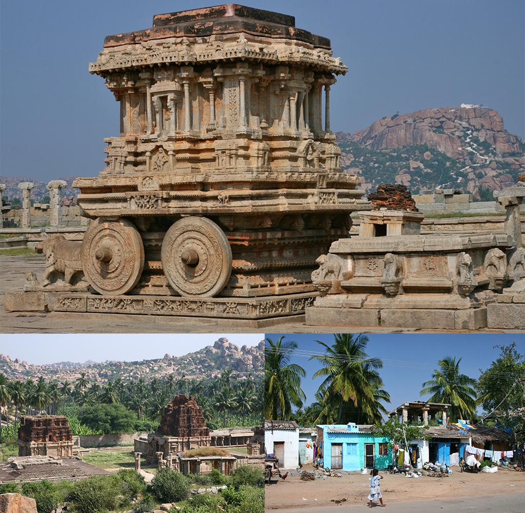 zien en doen in Karnataka - Hampi