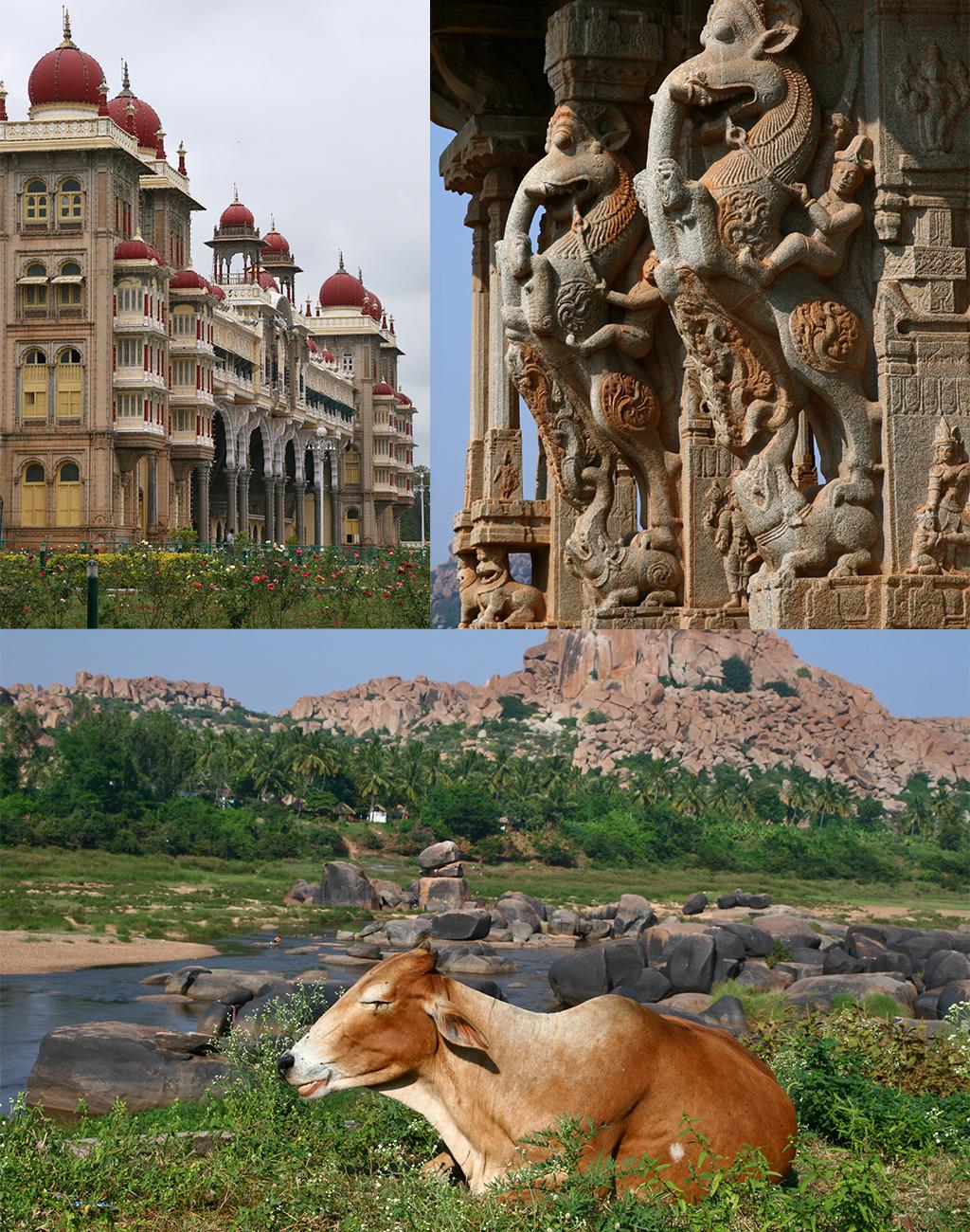 zien en doen in Karnataka - afwisseling