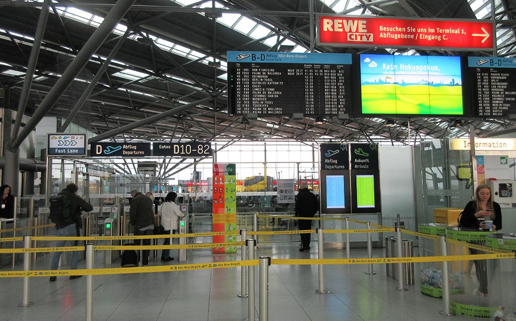 Zorg dat je weet waar de luchthaven is